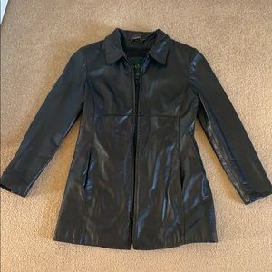 Danier // Leather Coat